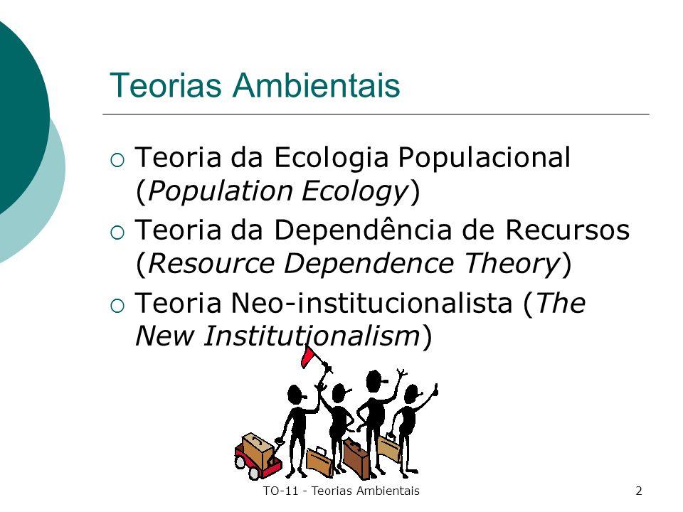 TO-11 - Teorias Ambientais