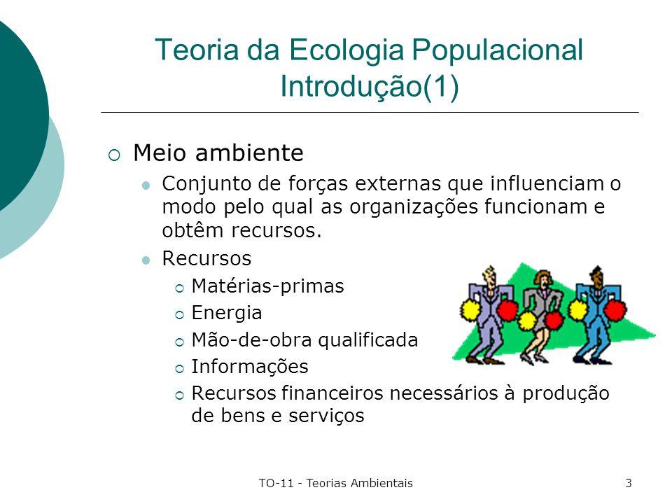 Teoria da Ecologia Populacional Introdução(1)
