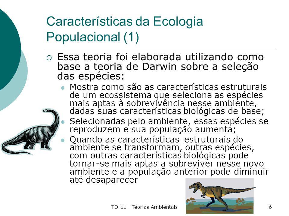 Características da Ecologia Populacional (1)