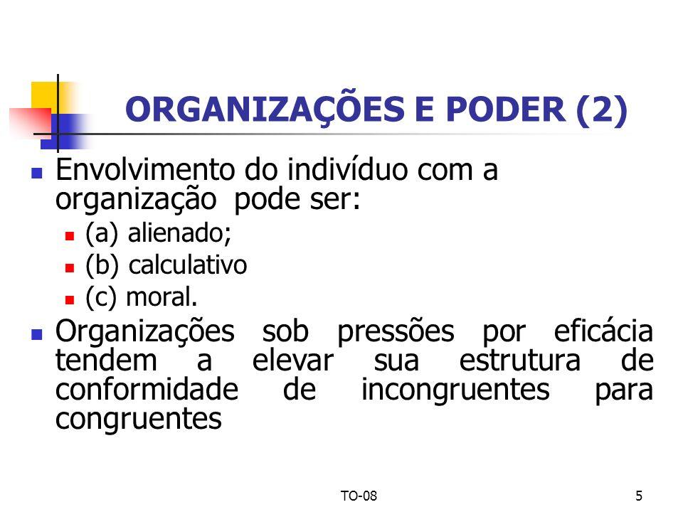 ORGANIZAÇÕES E PODER (2)