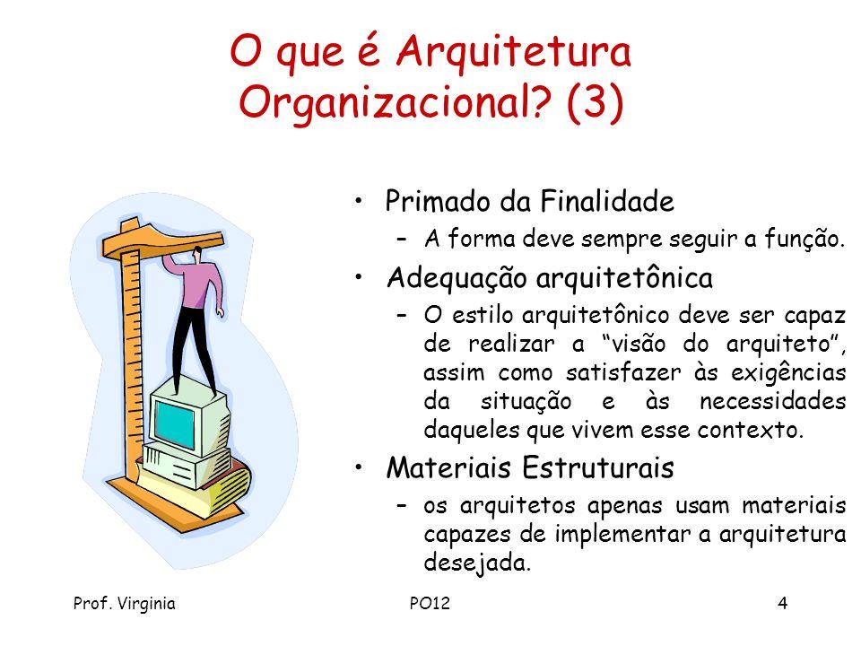 O que é Arquitetura Organizacional (3)