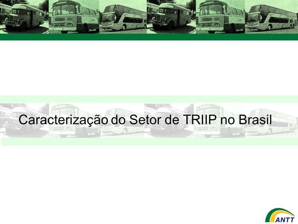 Caracterização do Setor de TRIIP no Brasil