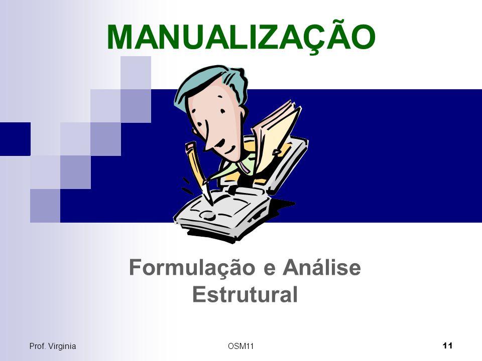 Formulação e Análise Estrutural
