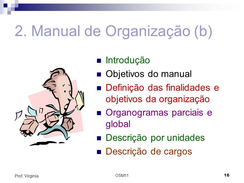 2. Manual de Organização (b)