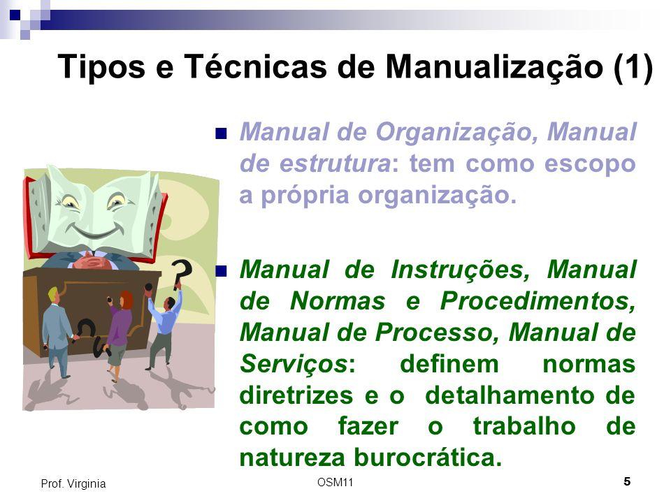 Tipos e Técnicas de Manualização (1)