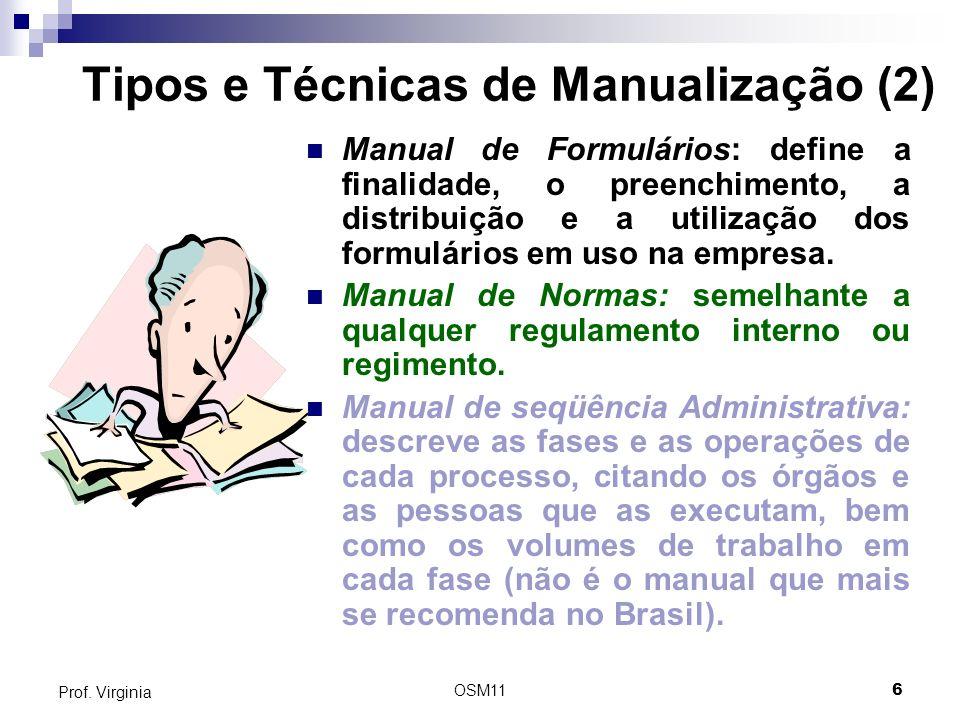 Tipos e Técnicas de Manualização (2)