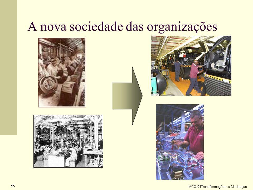 A nova sociedade das organizações