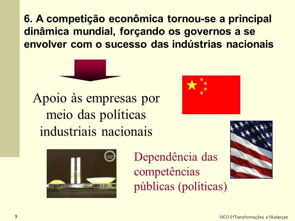 Apoio às empresas por meio das políticas industriais nacionais