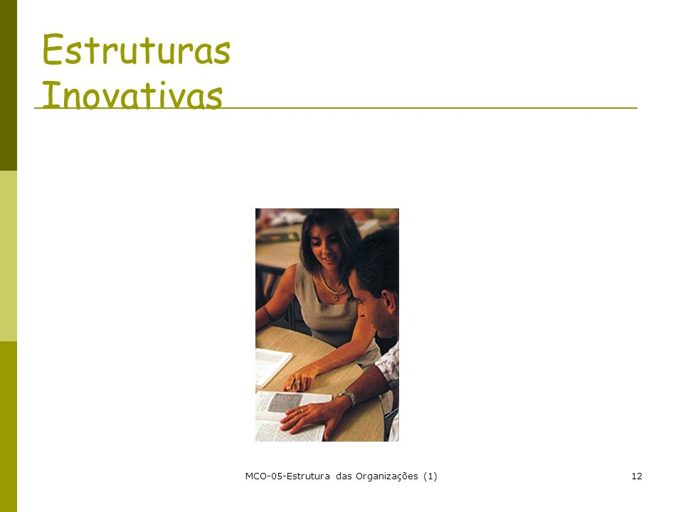 Estruturas Inovativas