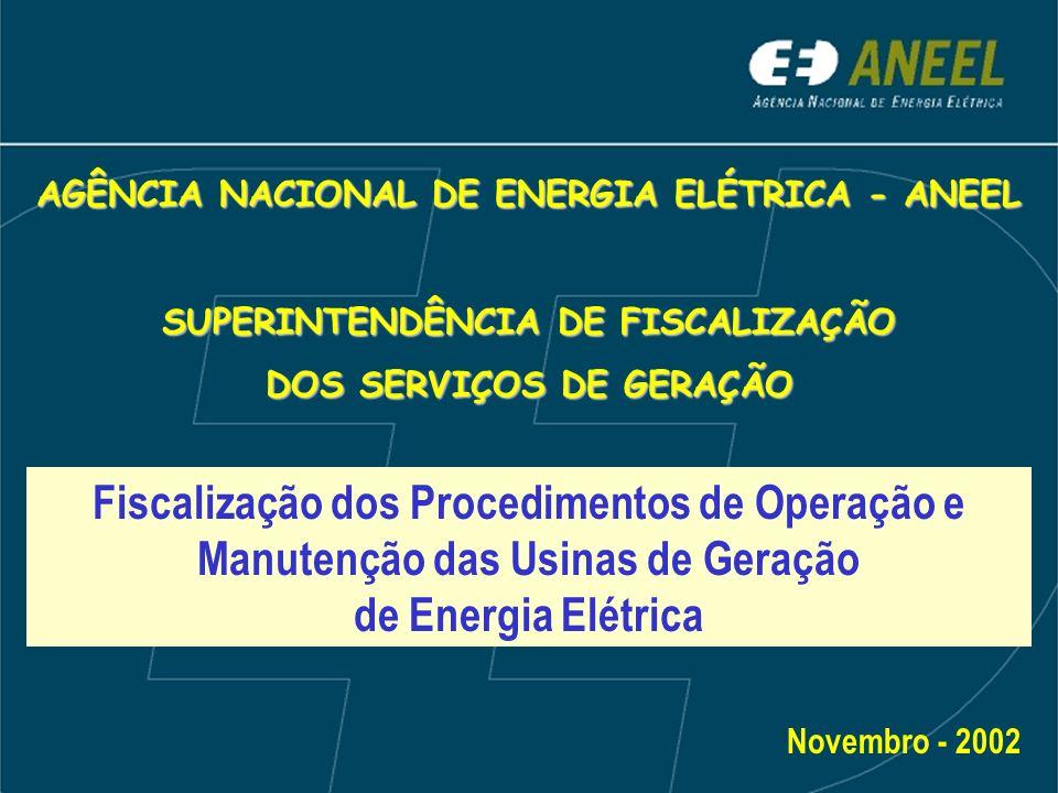AGÊNCIA NACIONAL DE ENERGIA ELÉTRICA - ANEEL