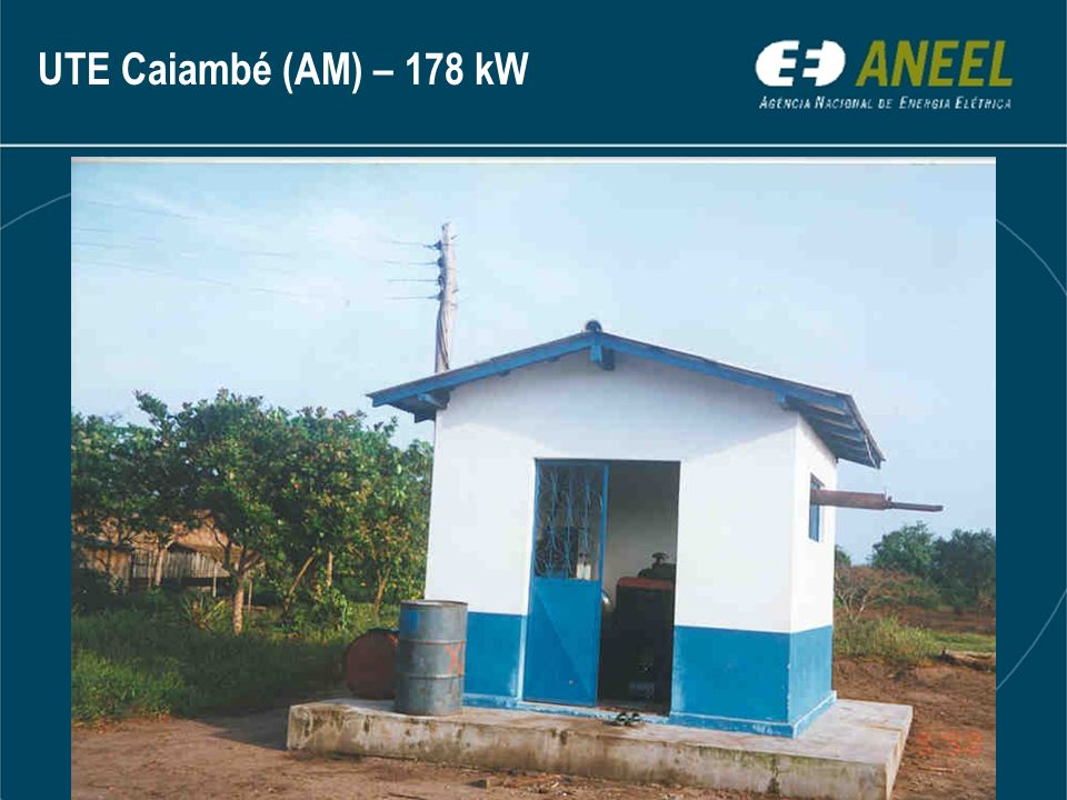 UTE Caiambé (AM) – 178 kW