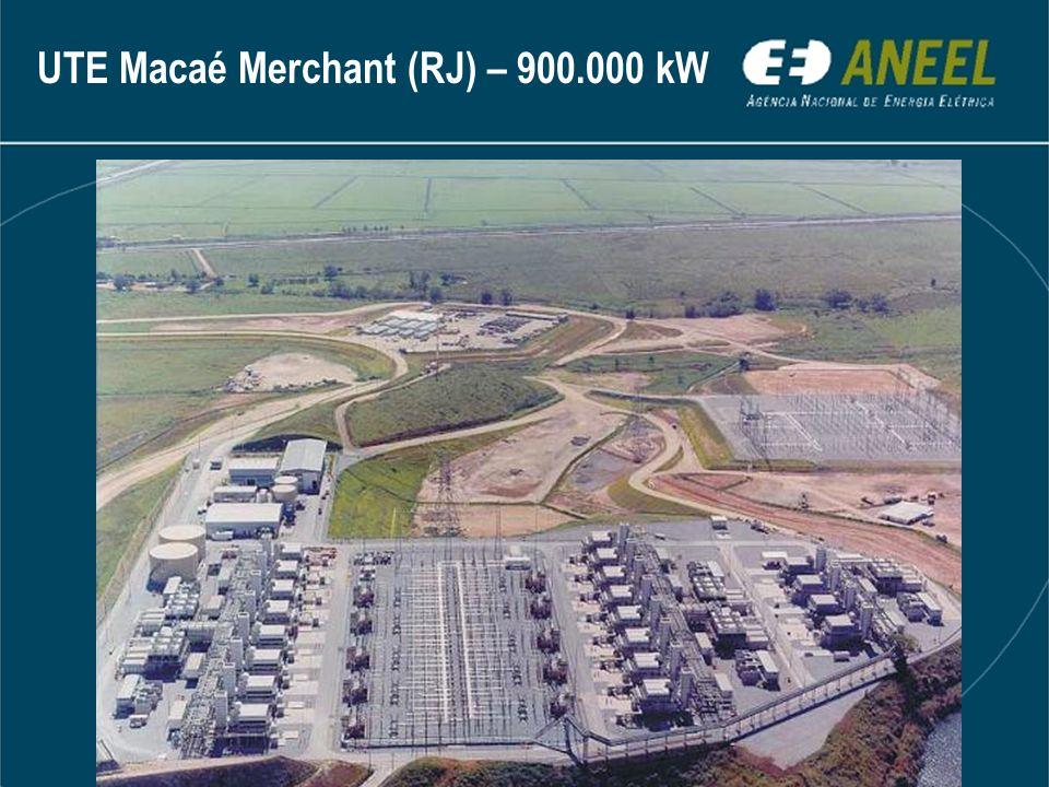 UTE Macaé Merchant (RJ) – 900.000 kW