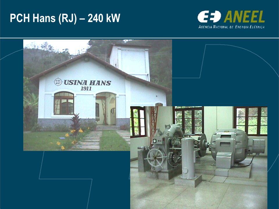 PCH Hans (RJ) – 240 kW