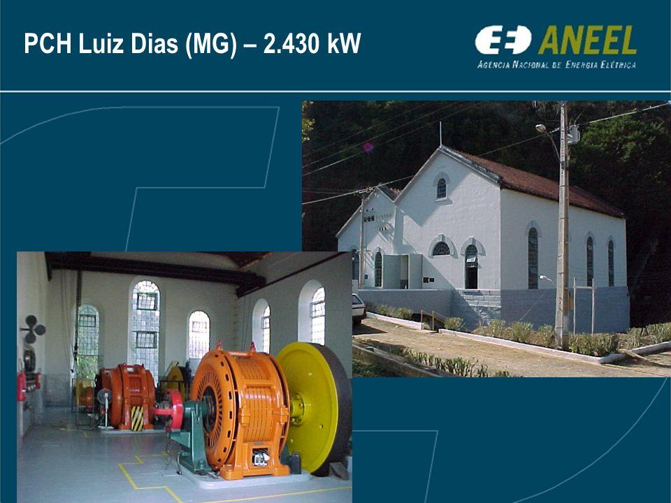 PCH Luiz Dias (MG) – 2.430 kW