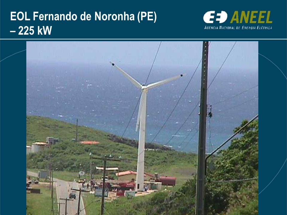 EOL Fernando de Noronha (PE) – 225 kW