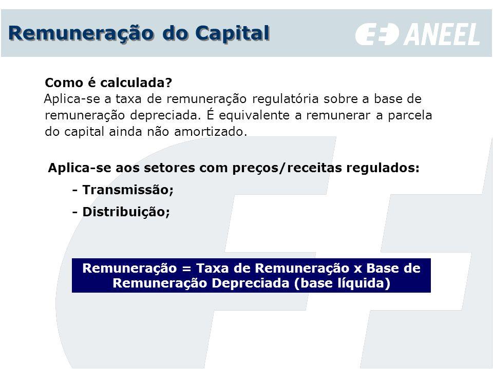 Remuneração do Capital