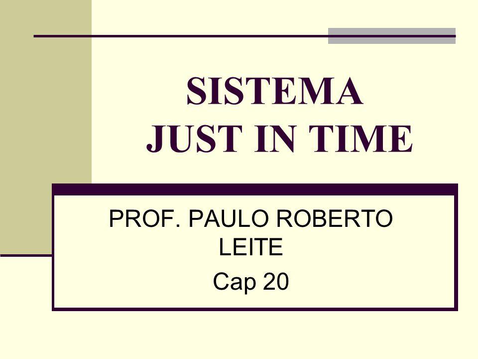 PROF. PAULO ROBERTO LEITE Cap 20
