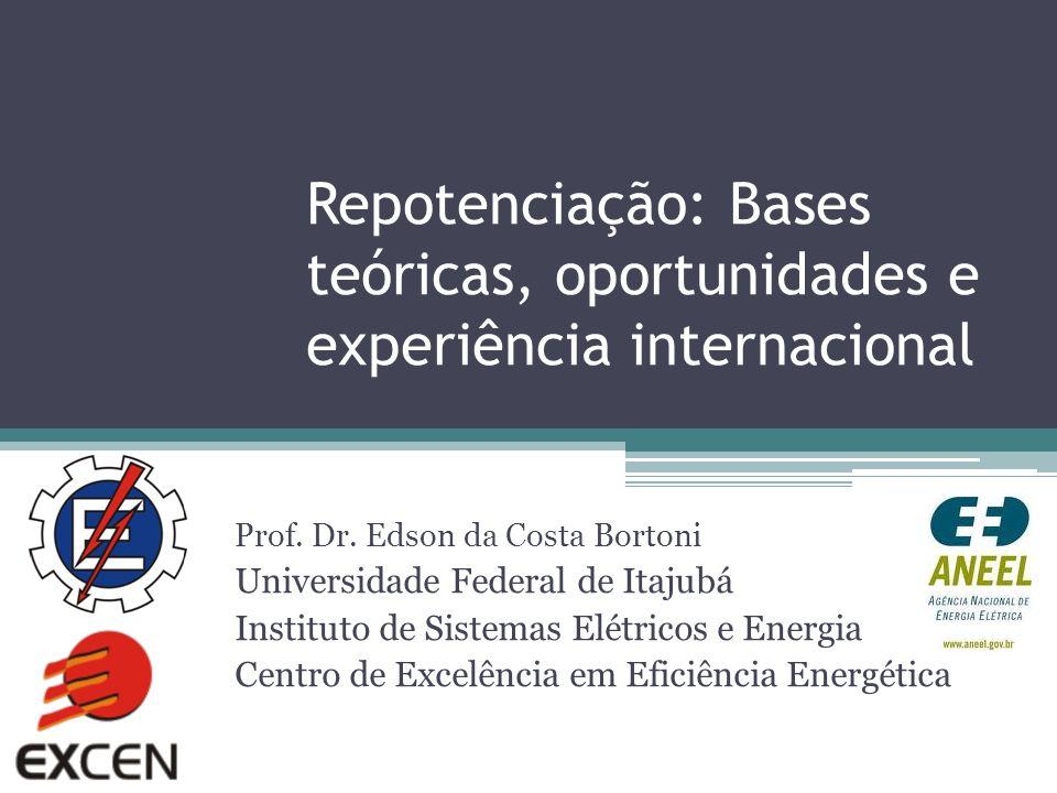 Repotenciação: Bases teóricas, oportunidades e experiência internacional