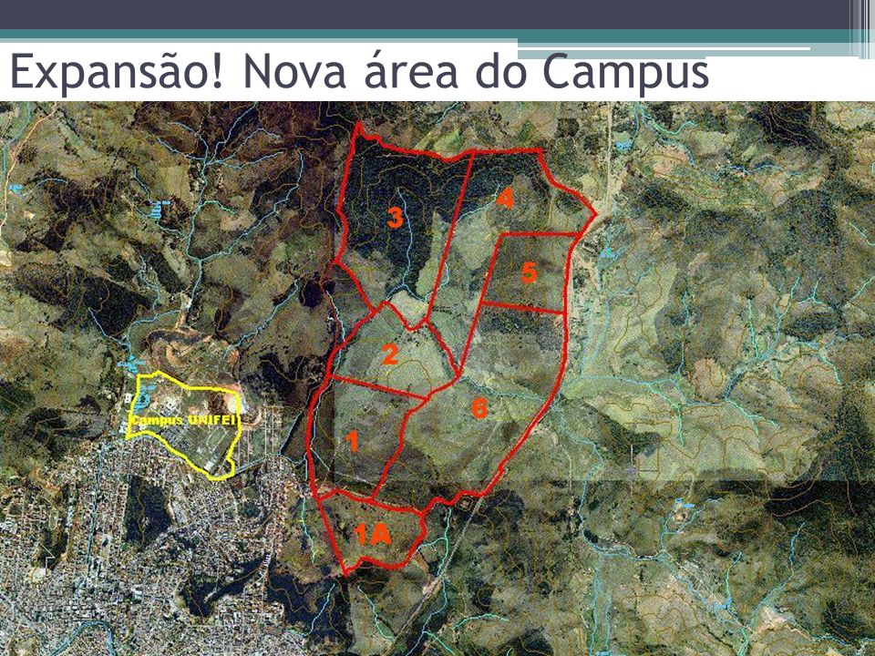 Expansão! Nova área do Campus
