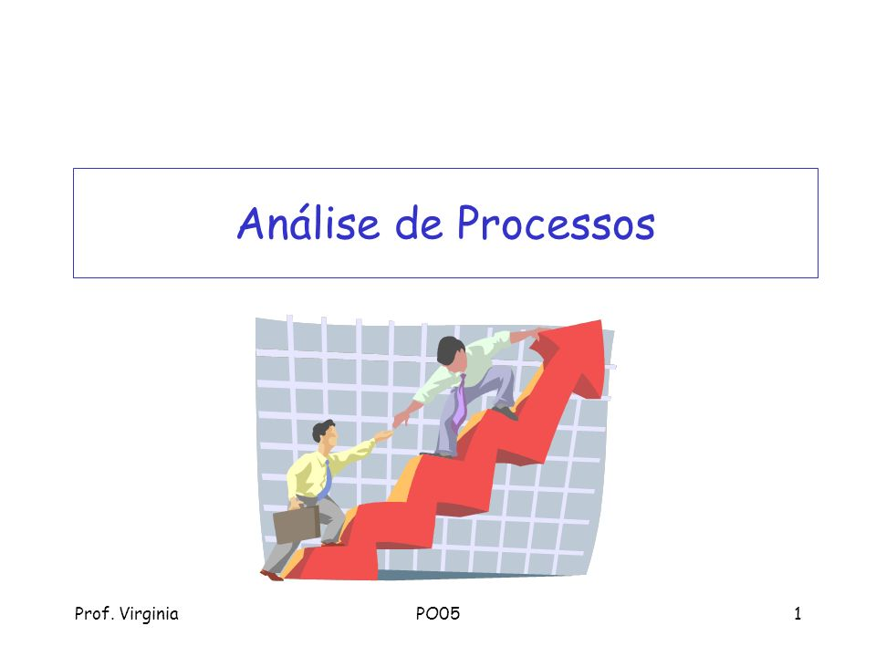 Análise de Processos Prof. Virginia PO05