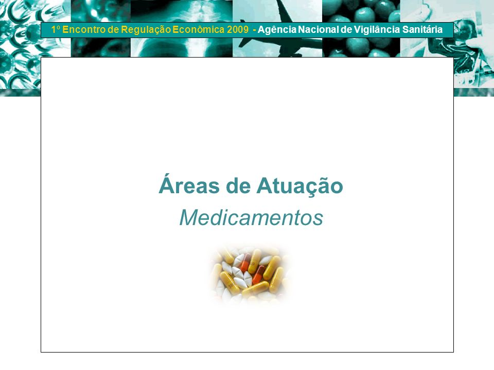 Áreas de Atuação Medicamentos