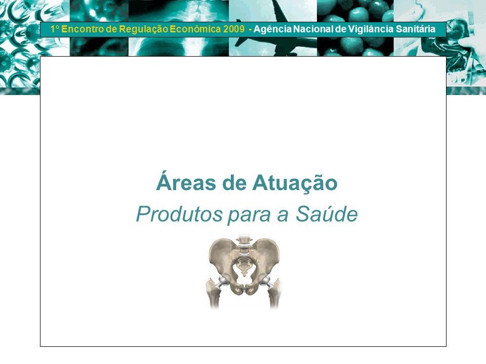 Áreas de Atuação Produtos para a Saúde