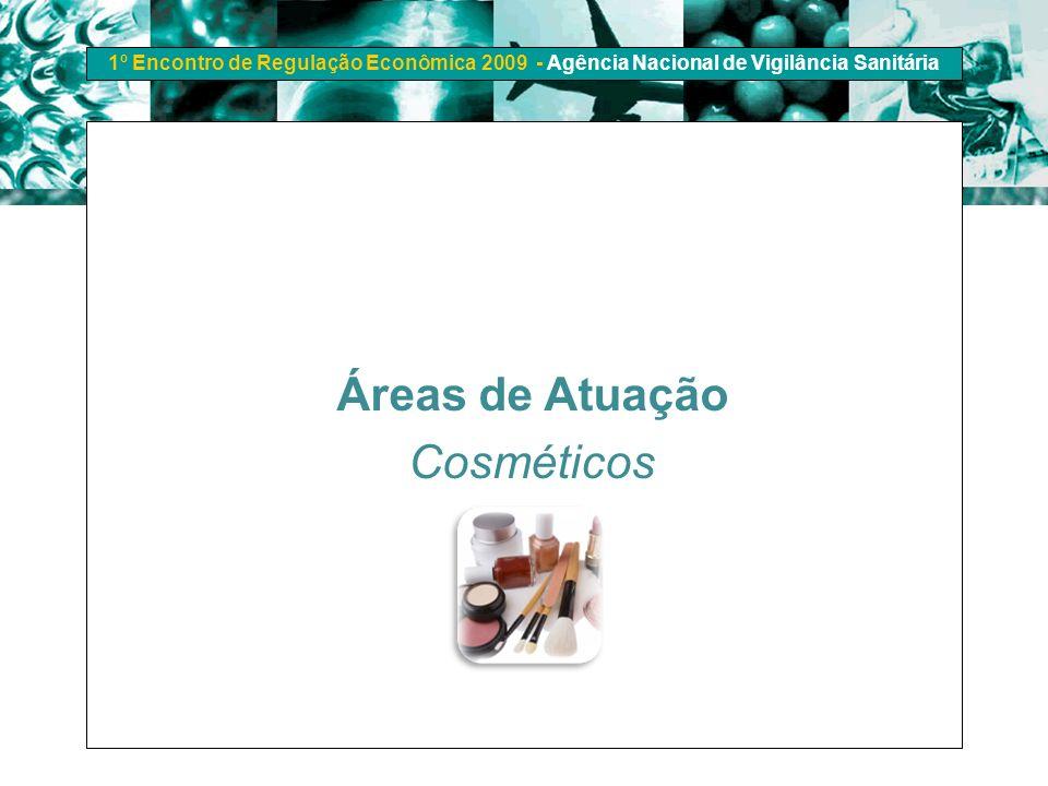 Áreas de Atuação Cosméticos