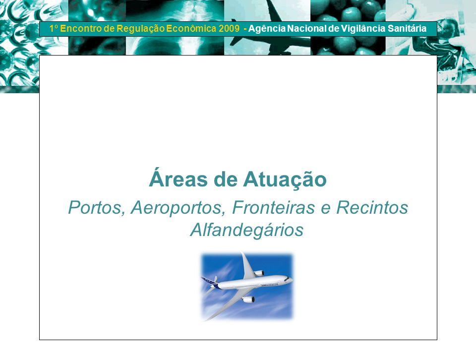Portos, Aeroportos, Fronteiras e Recintos Alfandegários