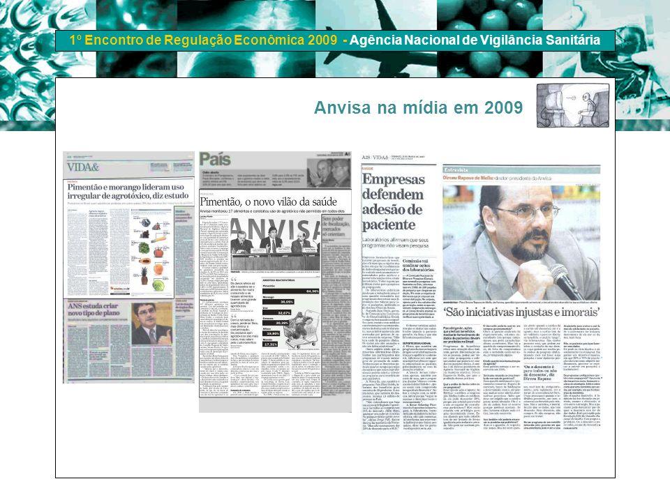 Anvisa na mídia em 2009