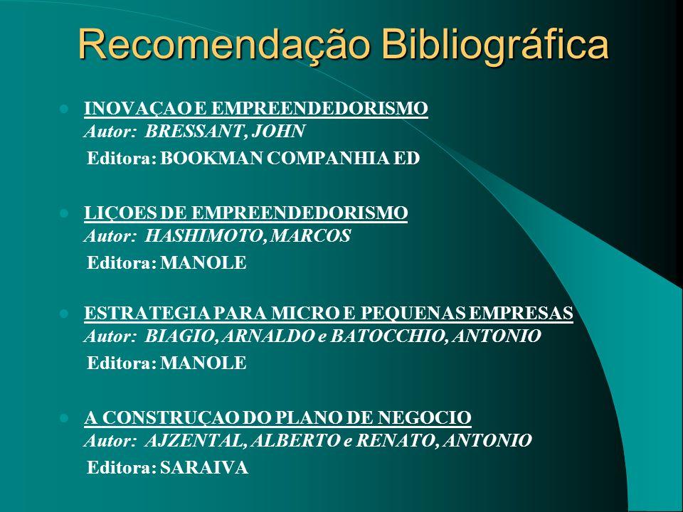Recomendação Bibliográfica