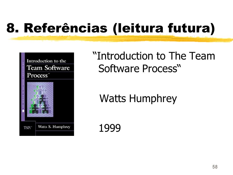 8. Referências (leitura futura)