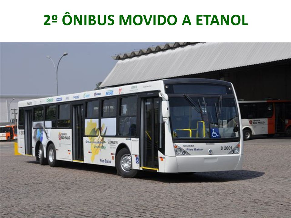 2º ÔNIBUS MOVIDO A ETANOL