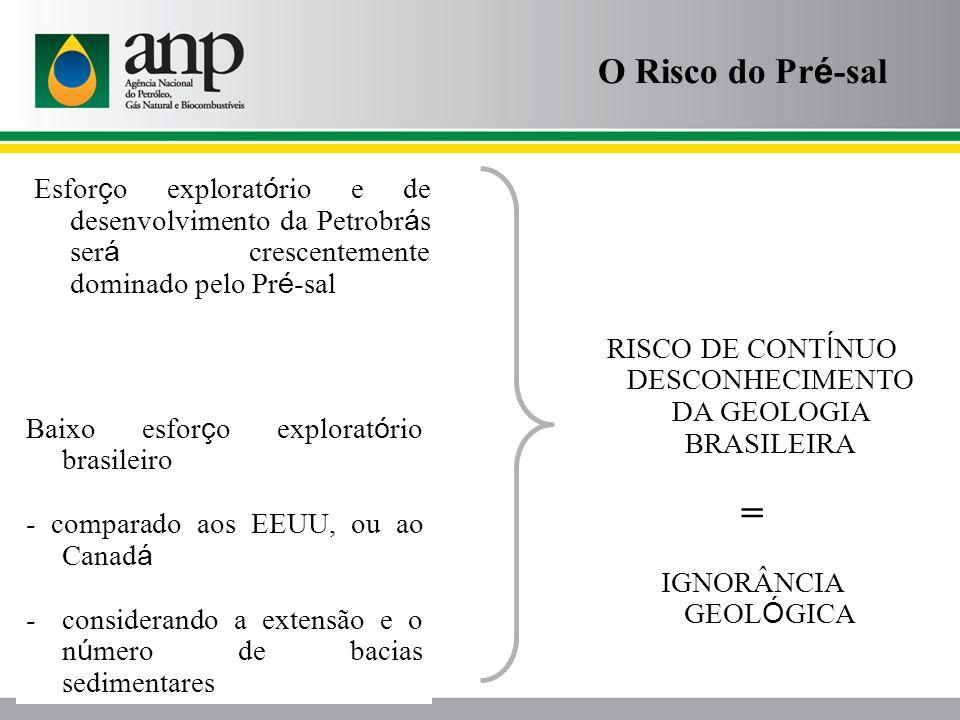 RISCO DE CONTÍNUO DESCONHECIMENTO DA GEOLOGIA BRASILEIRA