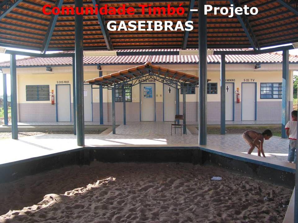 Comunidade Timbó – Projeto GASEIBRAS
