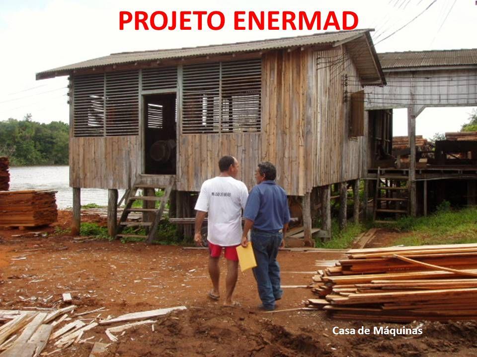 PROJETO ENERMAD Casa de Máquinas