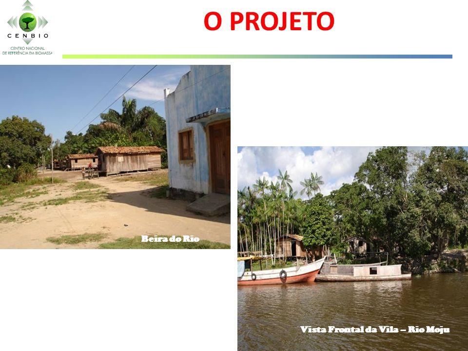 Vista Frontal da Vila – Rio Moju