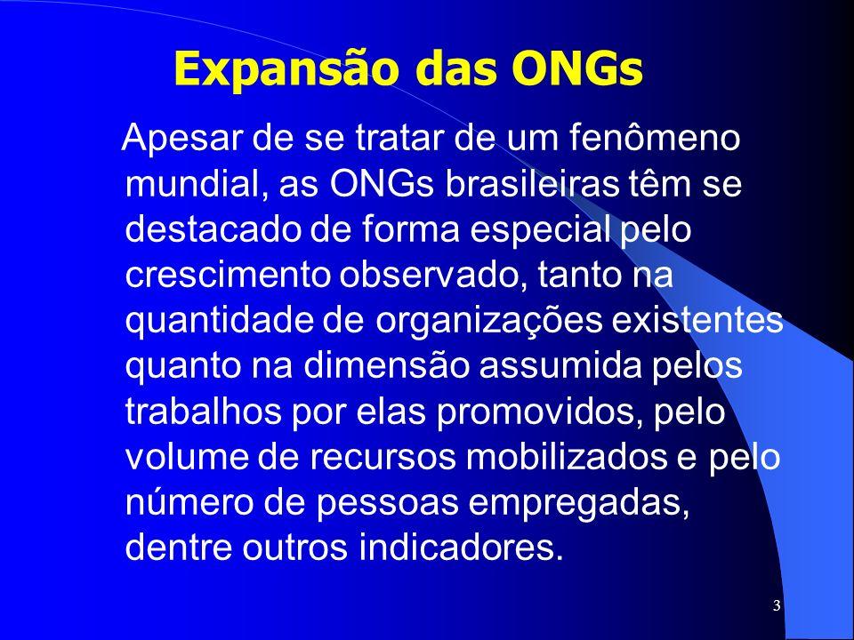 Expansão das ONGs