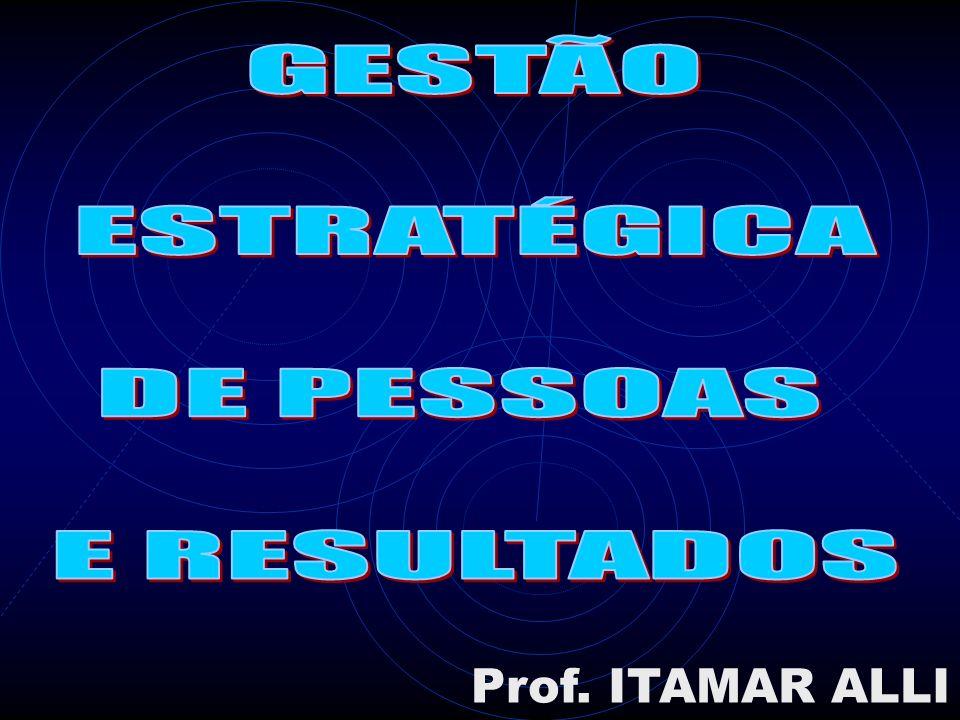 GESTÃO ESTRATÉGICA DE PESSOAS E RESULTADOS Prof. ITAMAR ALLI