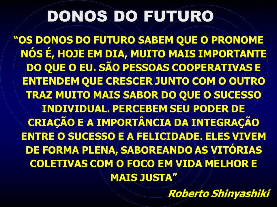 ITAMAR ALLIDONOS DO FUTURO.