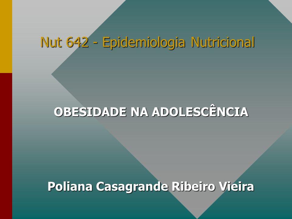Nut 642 - Epidemiologia Nutricional