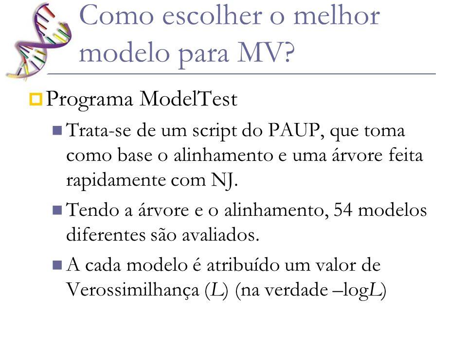Como escolher o melhor modelo para MV