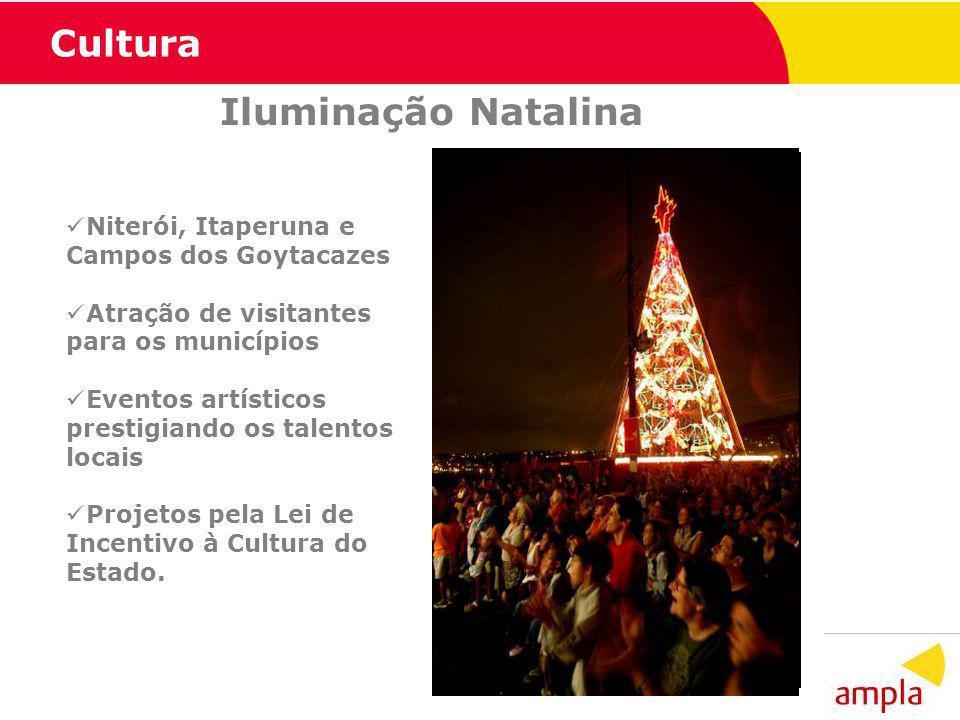 Cultura Iluminação Natalina Niterói, Itaperuna e Campos dos Goytacazes