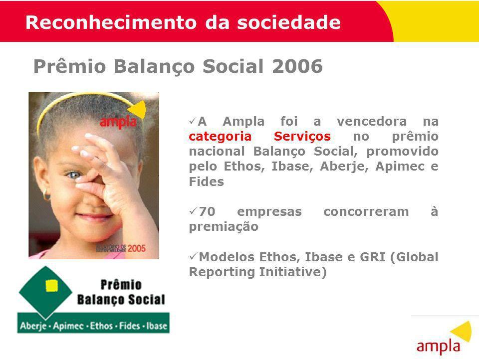 Reconhecimento da sociedade