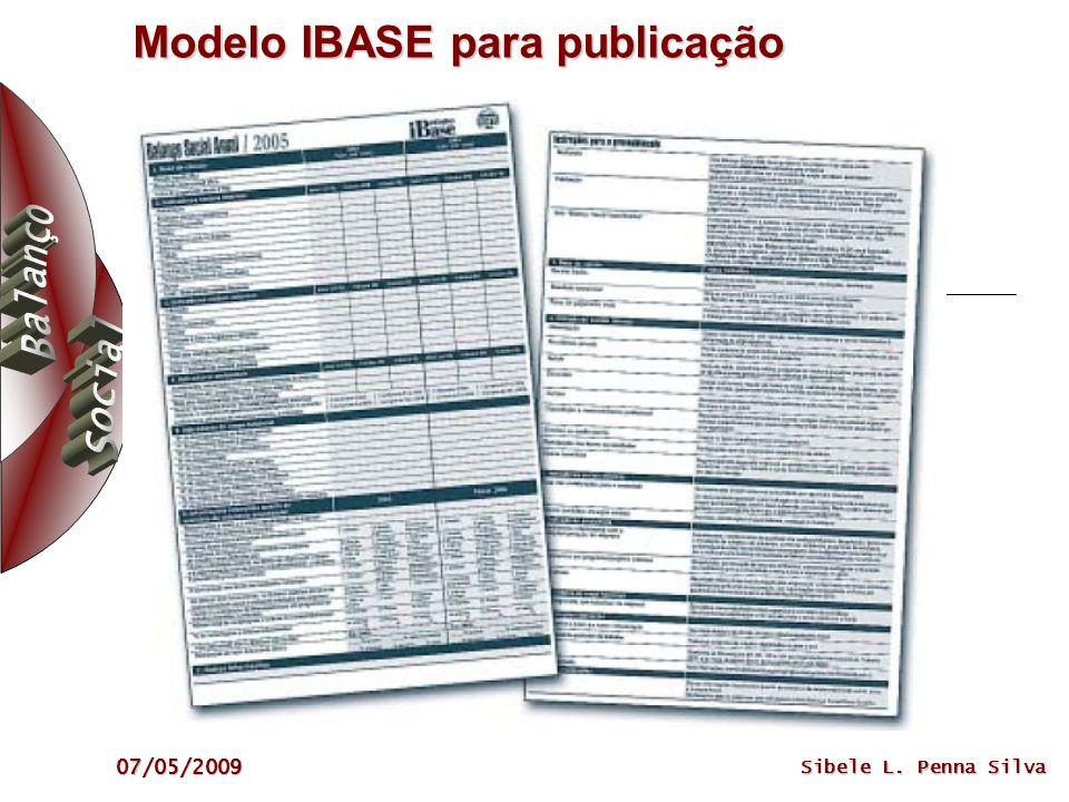 Modelo IBASE para publicação