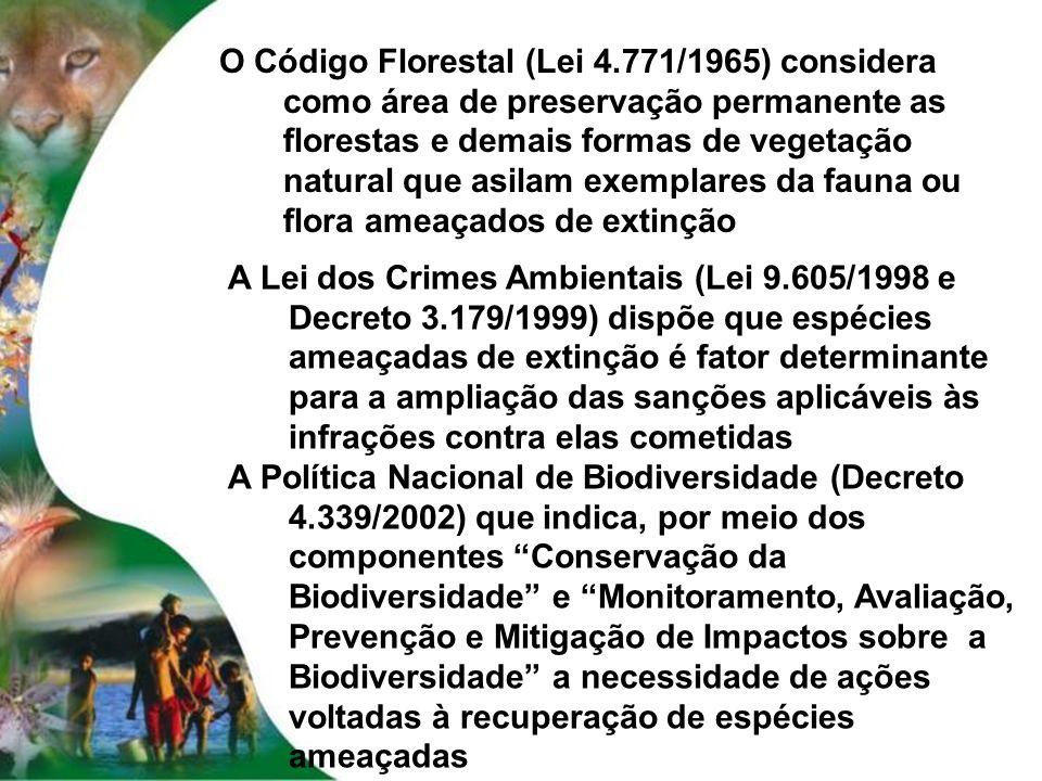 O Código Florestal (Lei 4