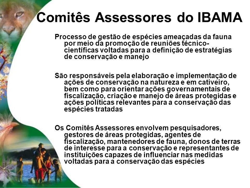Comitês Assessores do IBAMA