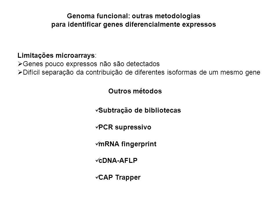 Genoma funcional: outras metodologias
