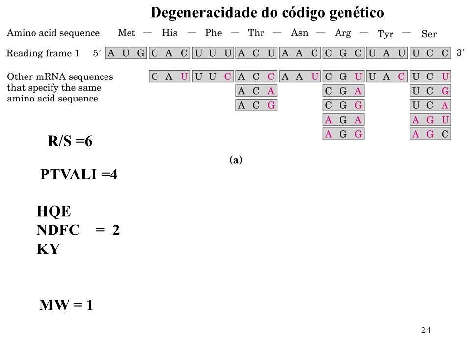 Degeneracidade do código genético