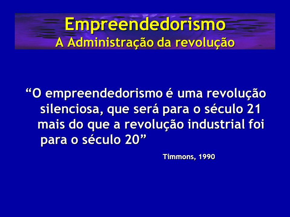 Empreendedorismo A Administração da revolução