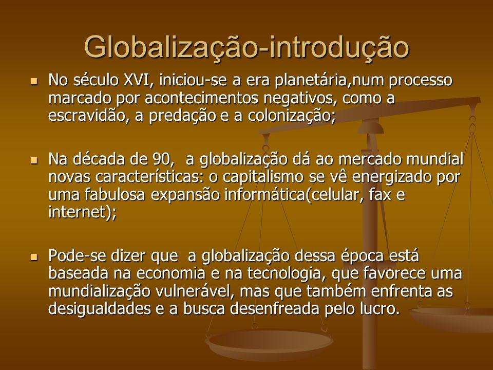 Globalização-introdução